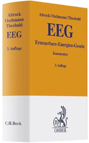 9783406610936: EEG: Erneuerbare-Energien-Gesetz