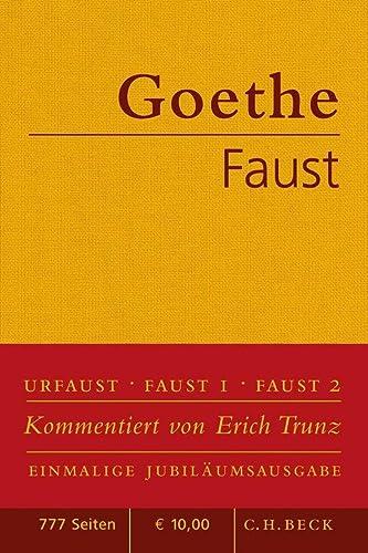 9783406611384: Faust: Der Tragödie erster und zweiter Teil. Urfaust