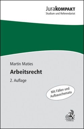 Arbeitsrecht Von Martin Zvab