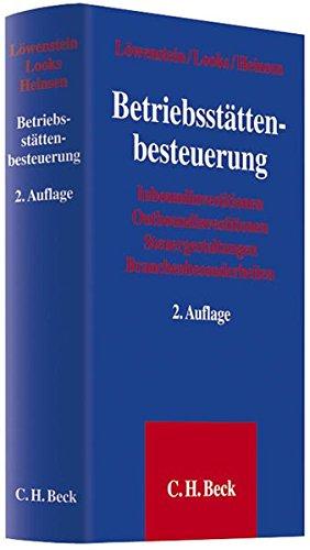 Betriebsstättenbesteuerung: Ulrich Löwenstein
