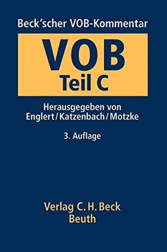 Beck'scher VOB-Kommentar Vergabe- und Vertragsordnung für Bauleistungen Teil C: Klaus ...