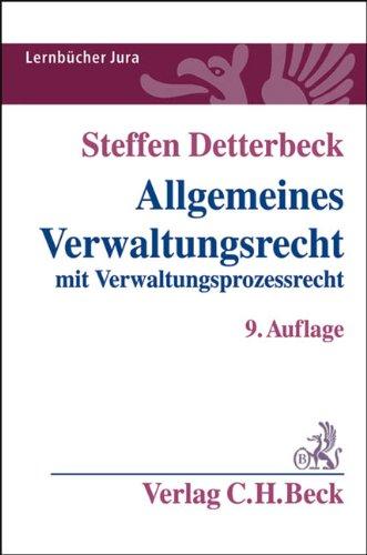 9783406614484: Allgemeines Verwaltungsrecht: mit Verwaltungsprozessrecht. Rechtsstand: Januar 2011
