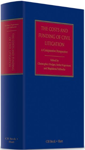 The Costs and Funding of Civil Litigation: Christopher Hodges