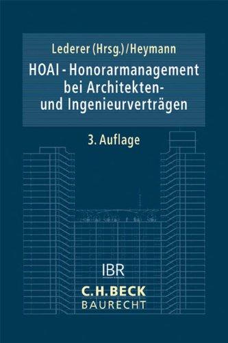 HOAI - Honorarmanagement bei Architekten- und Ingenieurverträgen: Maximilian Lederer