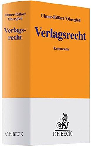 Verlagsrecht: Constanze Ulmer-Eilfort