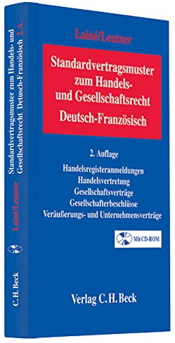 Standardvertragsmuster zum Handels- und Gesellschaftsrecht: Hugues Lainé