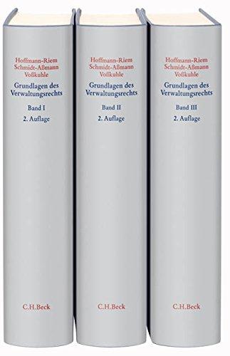 9783406620843: Grundlagen des Verwaltungsrechts. 3 Bände