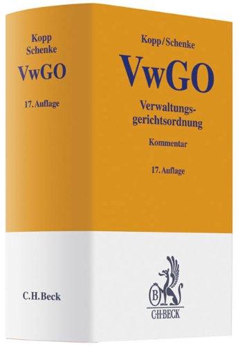 9783406620881: Verwaltungsgerichtsordnung (VwGO)