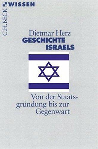 9783406621291: Geschichte Israels: Von der Staatsgründung bis zur Gegenwart