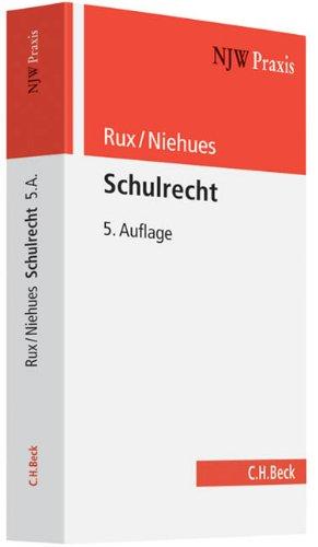 Schulrecht: Norbert Niehues