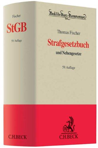 9783406624070: Strafgesetzbuch : und Nebengesetze Beck sche Kurz-Kommentare; 10