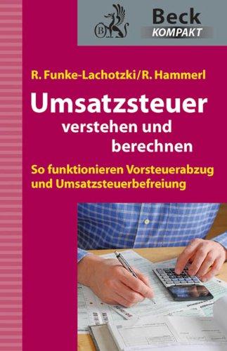 9783406624995: Umsatzsteuer: verstehen und berechnen