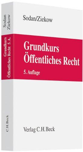 9783406627927: Grundkurs �ffentliches Recht: Staats- und Verwaltungsrecht