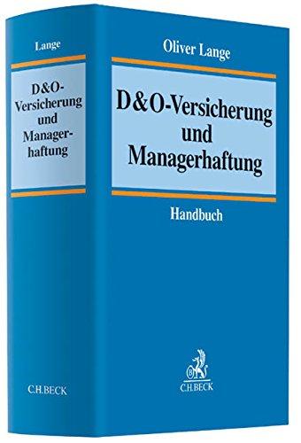 9783406627996: D&O-Versicherung und Managerhaftung