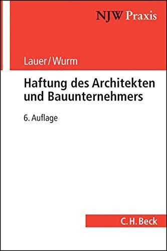 9783406628900: Haftung des Architekten und Bauunternehmers