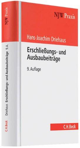 Erschließungs- und Ausbaubeiträge: Hans-Joachim Driehaus
