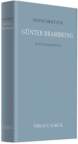 Festschrift für Günter Brambring zum 70. Geburtstag