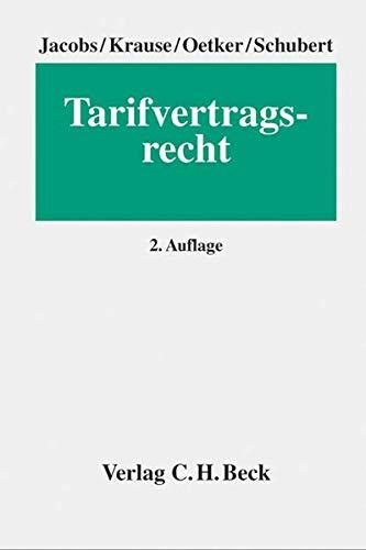 Tarifvertragsrecht: Matthias Jacobs
