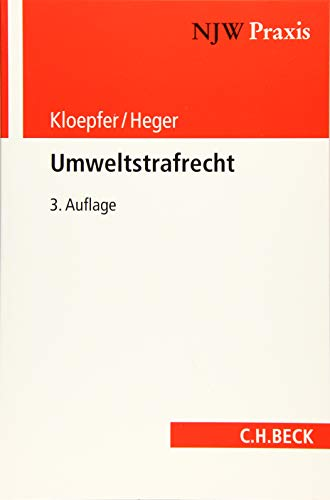 Umweltstrafrecht: Michael Kloepfer