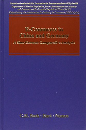 9783406630163: E-Commerce in China and Germany: A Sino-German Comparative Analysis