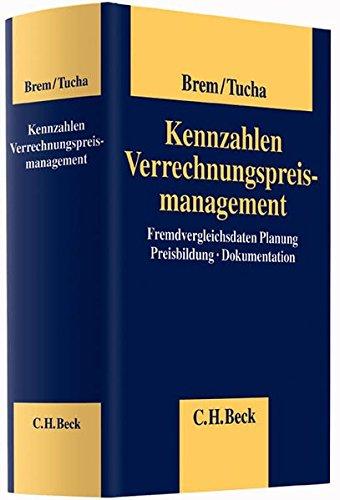 Kennzahlen Verrechnungspreismanagement: Markus Brem