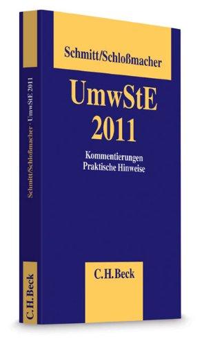 Umwandlungssteuererlass UmwStE 2011: Stefan Schloßmacher
