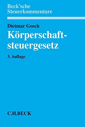 Körperschaftsteuergesetz: Dietmar Gosch