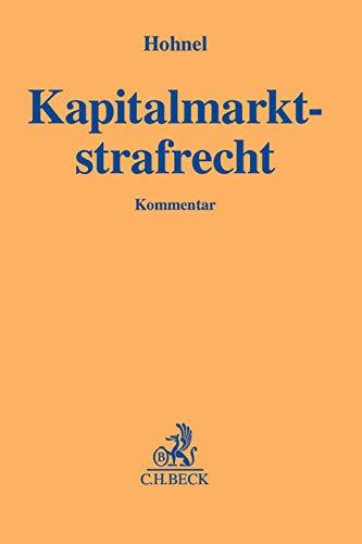 Kapitalmarktstrafrecht: Andreas Hohnel
