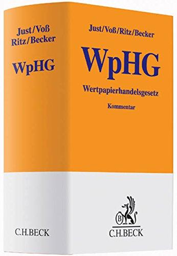 Wertpapierhandelsgesetz (WpHG): Clemens Just