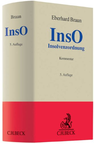9783406632099: Insolvenzordnung (InsO)