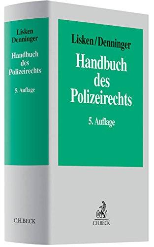 9783406632471: Handbuch des Polizeirechts