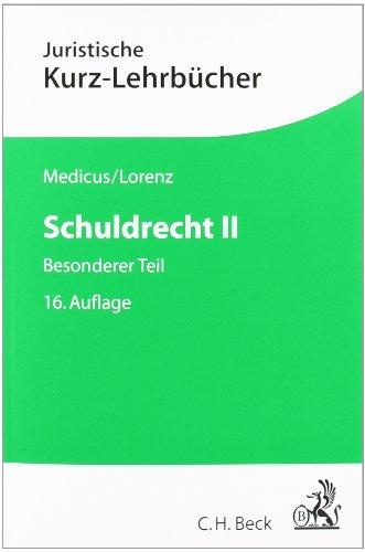 9783406632655: Schuldrecht II