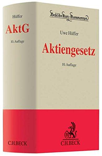 Aktiengesetz (Beck'sche Kurz-Kommentare, Band 53): Hüffer, Uwe