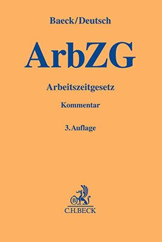Arbeitszeitgesetz: Ulrich Baeck
