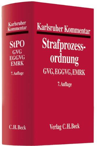 Karlsruher Kommentar zur Strafprozessordnung: Rolf Hannich