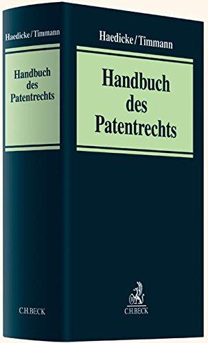 9783406637629: Handbuch des Patentrechts