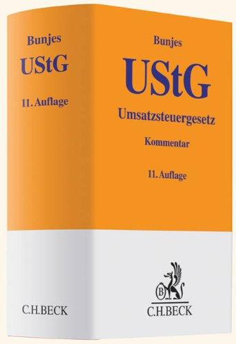 9783406637636: Umsatzsteuergesetz