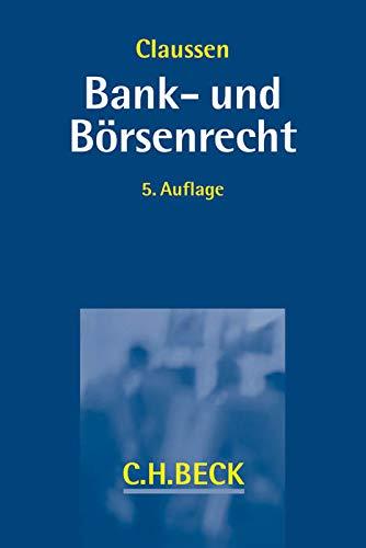 Bank- und Börsenrecht: Roland Erne