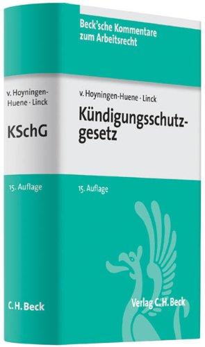 9783406640902: Kündigungsschutzgesetz