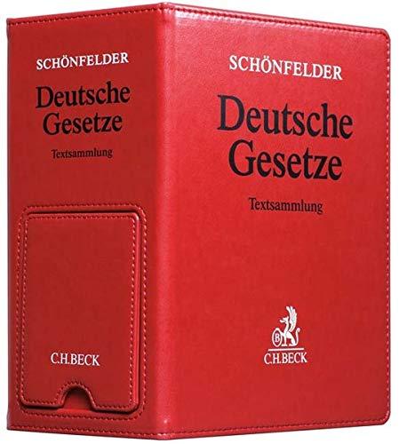 9783406641763: Schönfelder: Deutsche Gesetze