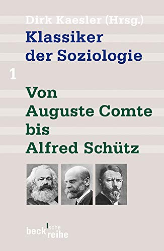 9783406642975: Klassiker der Soziologie 01