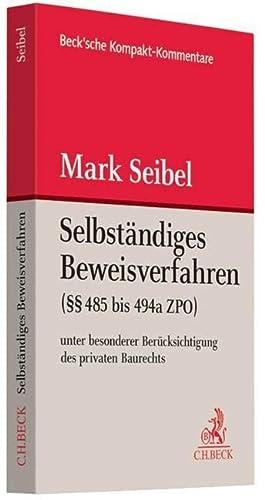 Selbständiges Beweisverfahren: Mark Seibel