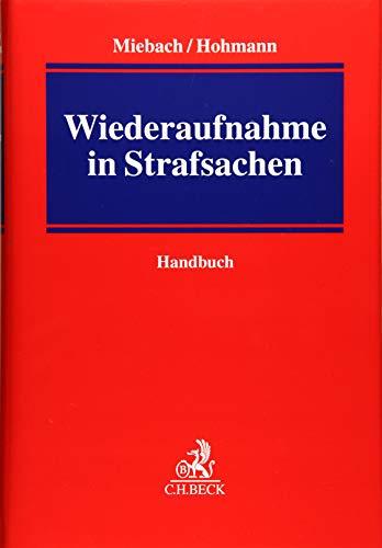 9783406643057: Handbuch der Wiederaufnahme in Strafsachen