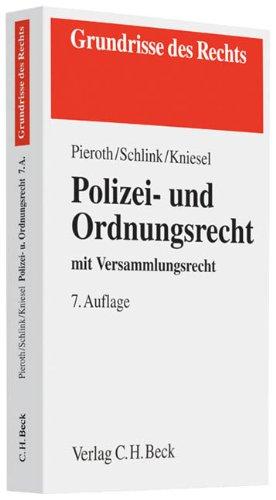 9783406643453: Polizei- und Ordnungsrecht: mit Versammlungsrecht
