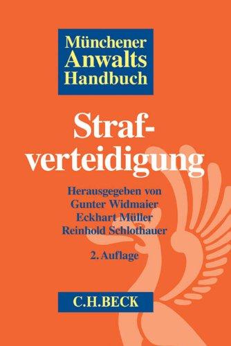 9783406643705: Münchener Anwaltshandbuch Strafverteidigung