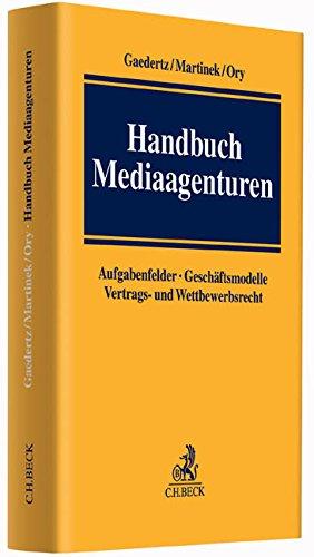 Handbuch Mediaagenturen: Johann-Christoph Gaedertz