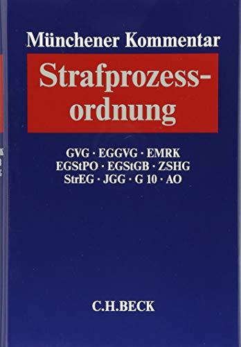 9783406646836: Münchener Kommentar zur Strafprozessordnung 03: §§ 333-495 StPO, GVG, EGGVG, MRK, EGStPO, EGStGB, StrEG, JGG
