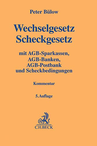 Wechselgesetz, Scheckgesetz: Peter B�low