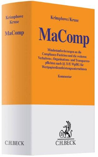 MaComp: Dieter Krimphove