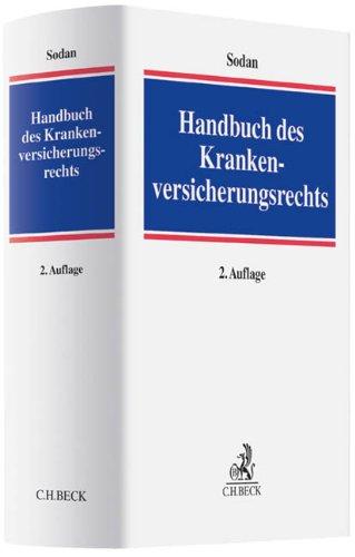 Handbuch des Krankenversicherungsrechts: Helge Sodan